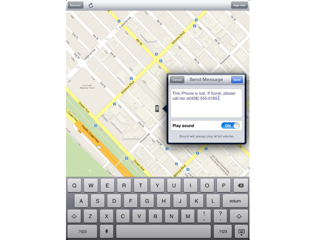 2. Buscar iPhone (Find My iPhone)